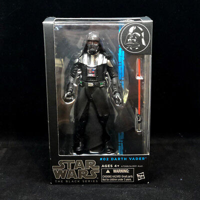 """Star Wars The Black Series DARTH VADER 6"""" #02 - 100% AUTHENTIC - US SELLER"""