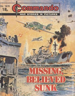 Commando War Stories in Pictures (D. C. Thomson Digest) #1670 1983 VG Low Grade