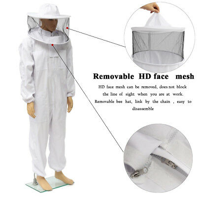 Equipment Bee Suit Bee Keeping FULL BODY Hat Jacket Professional Protective Hot