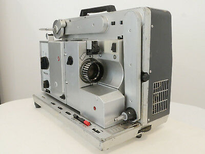 Bauer P 6 optical and magnetic 16mm sound projector , 18 and 24 fps with Record