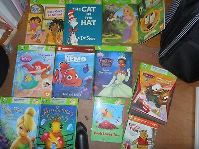 Huge Lot of 40 Leap Frog TAG & TAG Jr. Reader Books for Boys & Girls BOOKS ONLY