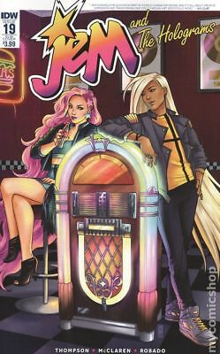 Jem and the Holograms (IDW) 19SUB 2016 VF Stock Image