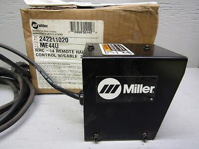 Miller 242211020 RHC-14 Remote Hand Control W/ 20' Cable
