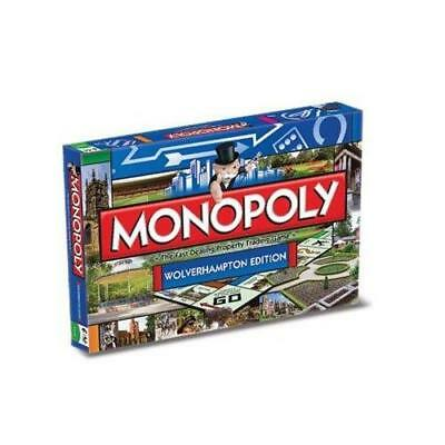 Wolverhampton Edition Monopoly Family Fast Dealing Property Trading Board Game