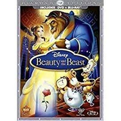 DVD: Beauty and the Beast (Three-Disc Diamond Edition Blu-ray/DVD Combo in DVD P