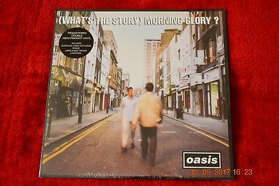 Oasis  ‎– (What's The Story) Morning Glory? 2LP NEW