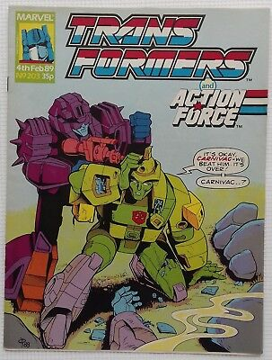 Transformers UK Comic Issue 203