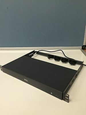 Dell 582RR 16 Port KVM Rackmount Console Network Switch Router WORKING FREE SHIP