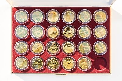 Legendary Aircraft of World War II $10 Coin Set - Marshall Islands - Missing One