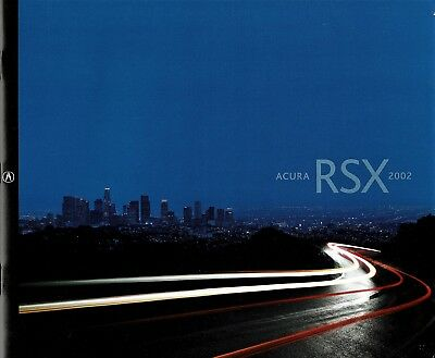 2002 Acura RSX Type-S 26-Page Dealer Sales Brochure