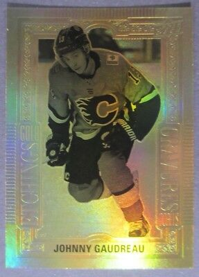 2018-19 Upper Deck Tim Hortons Etchings #GE-5 Johnny Gaudreau Calgary Flames