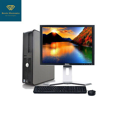 CLEARANCE! Fast Dell Desktop Computer PC QUAD CORE WIN 7/10 4/8/16GB RAM