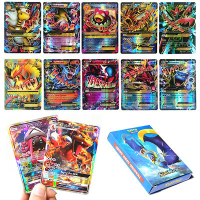 GX EX MEGA Pokemon Game Cards Holo Trading Flash Card Game Gift Bundle
