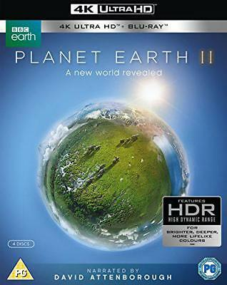 Planet Earth II (4k UHD + Blu-ray), DVD, New, FREE & Fast Delivery