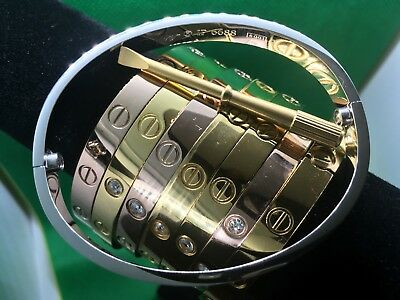 High Quality Stainless Steel Fashion Love Bangle Bracelet with Screwdriver