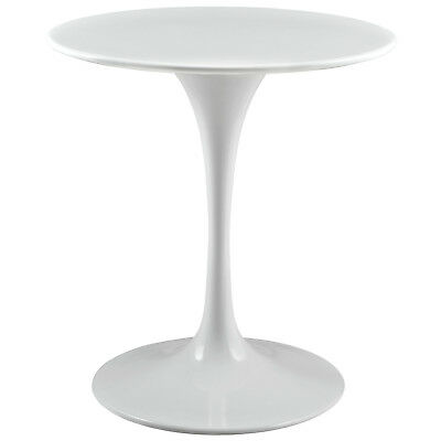 "Modway Lippa 28"" Round Wood Top Dining Table White"
