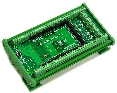 DIN Rail Mount Screw Terminal Block Adapter Module, For Arduino MEGA-2560 R3.