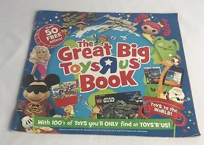 Toys R Us The Great Big Christmas Book Toy Holiday Catalog 2011