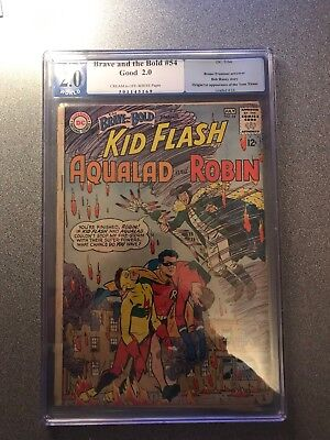 The Brave And The Bold #54 Pgx 2.0 Origin/1st Appearance Of The Teen Titans
