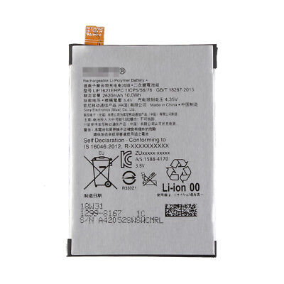 Replacement Battery LIS1621ERPC SONY XPERIA X F5121 F5122 2620mAh @10H