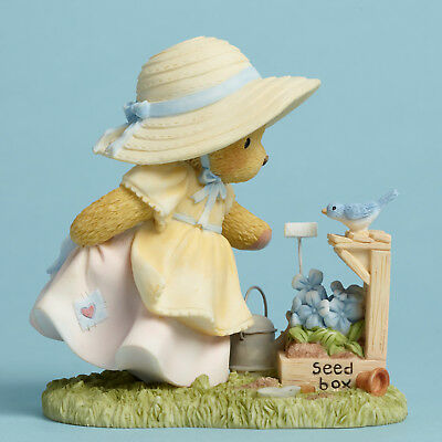 Cherished Teddies*BEAR WATERING SEED BOX*New*NIB*Plant with Love*AVRIL*4045933