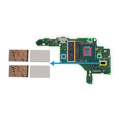 For Nintendo Switch NS Console Bluetooth Card Motherboard Board NIC Chip Parts