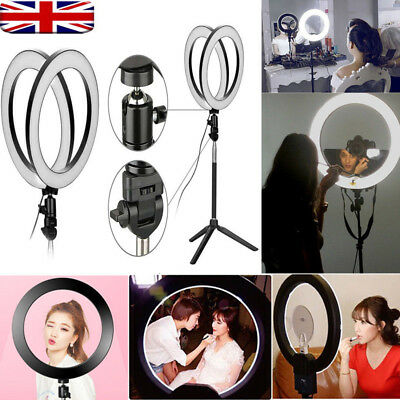 LED 3 Modes 40W 5500K Dimmable Studio Camera Ring Light Photo Phone Video Selfie