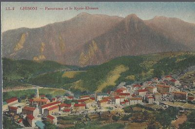CPA - GHISONI - Corse - Panorama et le Kyrie-Eleison