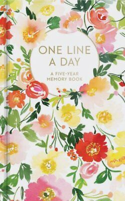 Floral One Line a Day A Five-Year Memory Book by Yao Cheng 9781452164618
