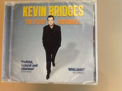 Kevin Bridges Cd - The Story Continues - Brand New And Sealed