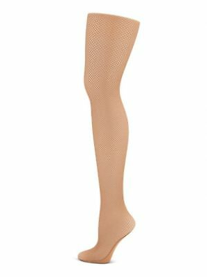 875351fcd9d98 CAPEZIO PROFESSIONAL SEAMLESS Fishnet Black Tights 3000 Size M/T ...