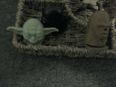 A small selection of little items as a Star Wars figure