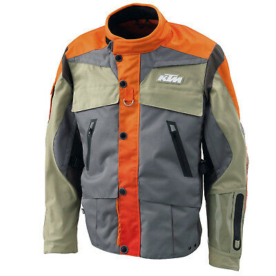 KTM Rally Mens Motorcycle Waterproof Breathable Vented Motorcycle Jacket