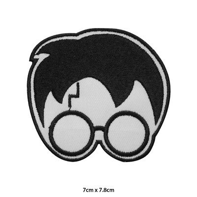 Harry Potter Scar Face Embroidered Patch Iron on Sew On Badge For Clothes etc