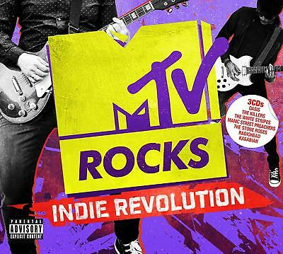 Mtv Rocks - Indie Revolution 3 Cd Various Artists - New Release March 2019