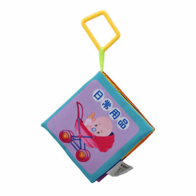 Funny Puzzle Intellectual Early Education Literacy Card Baby Infant Cloth BookFA