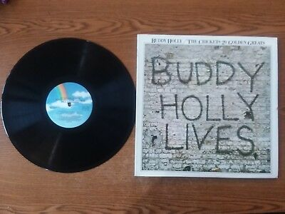 1978 Exc-Rare Buddy Holly & The Crickets 20 Golden Greats MCA-3040 LP33