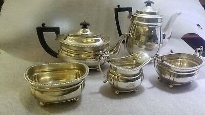 Tiffany & Co. English Sterling Silver 5 Piece Tea Set  $20 An Ounce