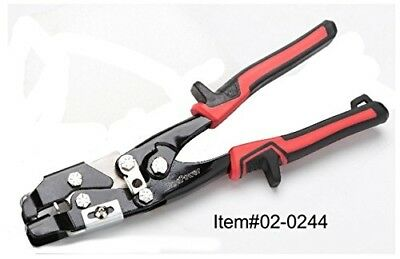 "8-1/2"" Nail Hole Slot Punch HVAC Ductwork Tool"