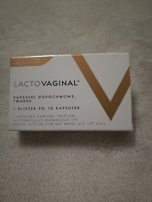 Lactovaginal PROBIOTIC 10 VAGINAL TABLETS THRUSH INTIMATE INFECTIONS TREATMENT