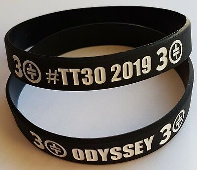 Take That Odyssey Greatest Hits Tour Wristbands - BLACK