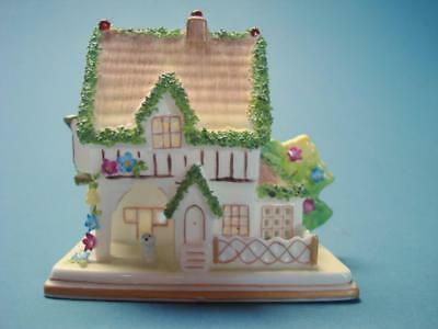 The Masters House Porcelain Pastille Burner Cottage by Coalport Bone China