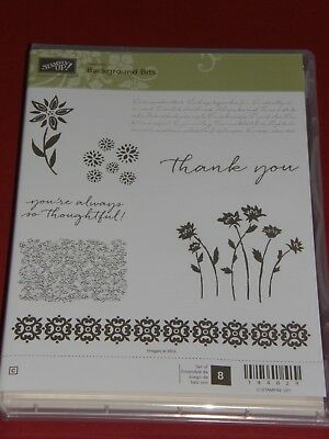 Stampin Up Stempelset Background Bits Neu Hochzeit Bordure Vintage