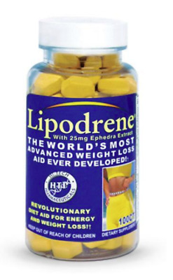 Hi-Tech  Lipodrene 100 servings Fat Burner - Weight Loss