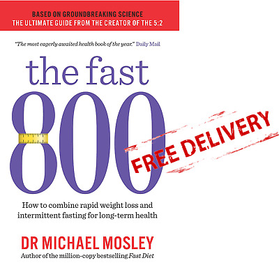 Weight Loss Paperback Book Food Cooking Diet Recipes The Fast 800 Michael Mosley