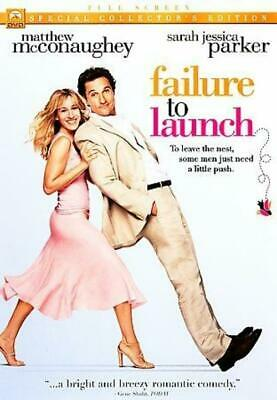 Failure to Launch (DVD, 2006, Full Frame) NEW