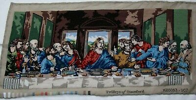 Completed tapestry The last Supper after Da Vinci
