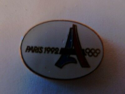 Pin's J.o   Paris 1992  /  Candidature  / Ab Paris  /  Rare