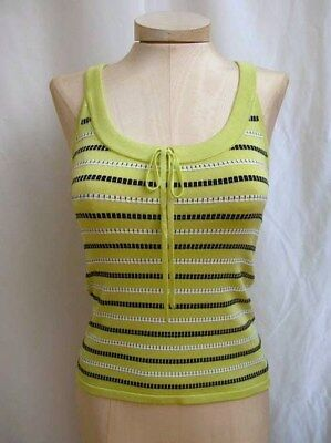 CARLISLE STRIPED TANK SHIRT TOP CAMISOLE named AGLOW size XL / XXL NEW $215