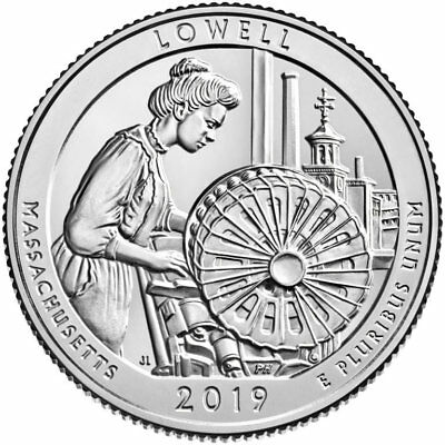 2019-P&D Lowell National Historical Park Quarters